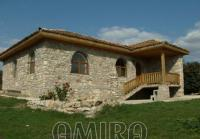 Stone house in authentic Bulgarian style front