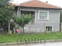 Bulgarian house in a big village