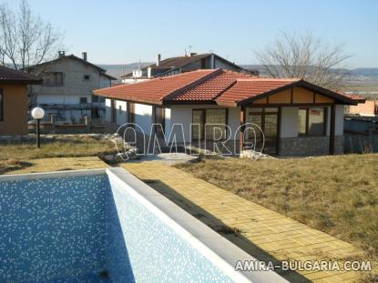 New house in Kranevo swimming pool