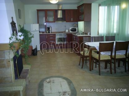 Sea view villa 5 km from Albena beach kitchen