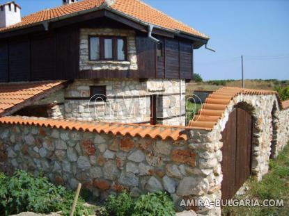 Authentic Bulgarian style house side