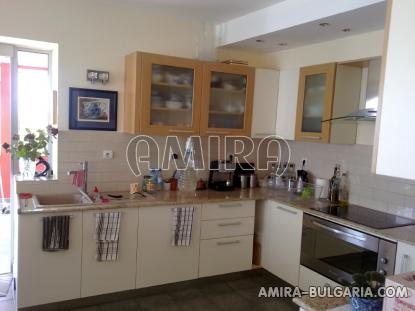 Luxury first line villa in Balchik with magnificent sea view kitchen