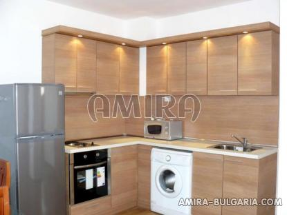 Furnished semi-detached bulgarian house 4 km from the beach kitchen