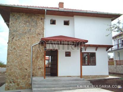 Furnished house with pool and sea view Albena, Bulgaria back