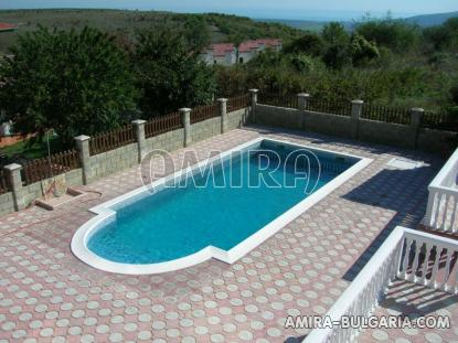 Furnished house with pool and sea view Albena, Bulgaria pool