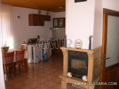 Furnished house with pool and sea view Albena, Bulgaria living room