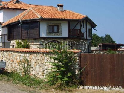 Authentic Bulgarian style house fence