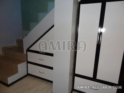 Furnished sea view villa in Balchik stairs