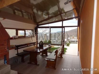 Furnished sea view villa in Balchik veranda