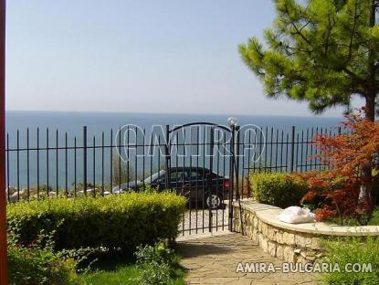 Luxury villa in Balchik view from garden