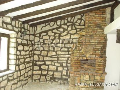 Authentic Bulgarian style house with big plot fireplace 2