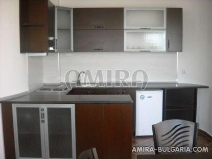 Furnished sea view apartments in Kranevo kitchen
