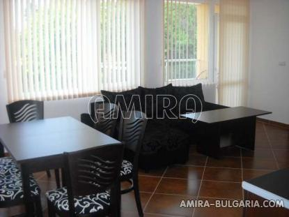 Furnished sea view apartments in Kranevo living room