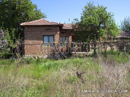 House in Bulgaria near Dobrich front