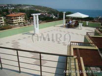 Family hotel in Byala Bulgaria terrace