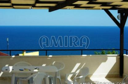 Magnificent sea view villa in Bulgaria terrace