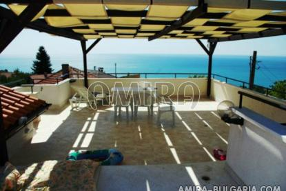 Magnificent sea view villa in Bulgaria terrace 1