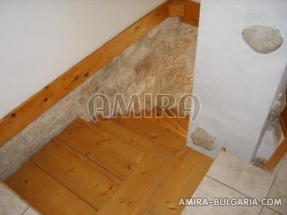 Authentic Bulgarian style house stairs