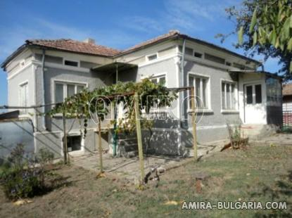 House near Dobrich Bulgaria