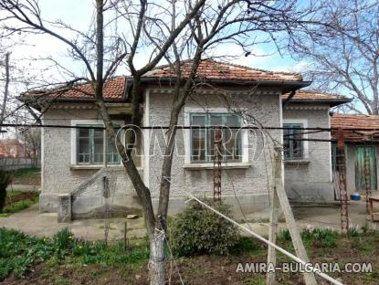 House in a big Bulgarian village