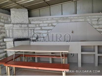 Sea view villa in Balchik barbeque