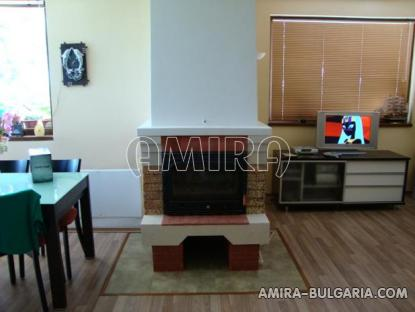 Furnished house in Bulgaria 12 km from the beach fireplace