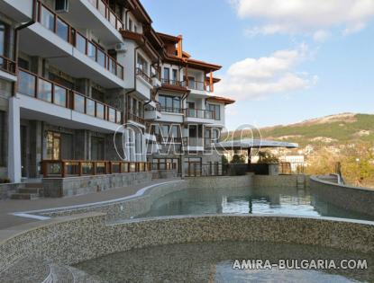 Sea view apartments in Balchik pool