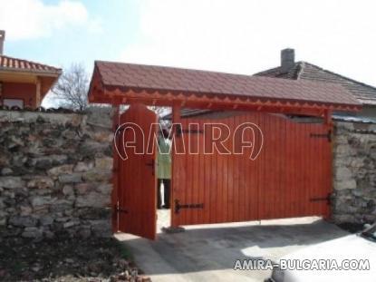 House next to Balchik Bulgaria fence 2