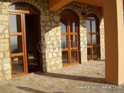 Authentic Bulgarian style house with lake view veranda