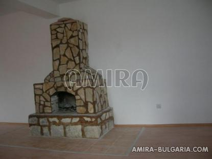 Renovated bulgarian holiday home fireplace