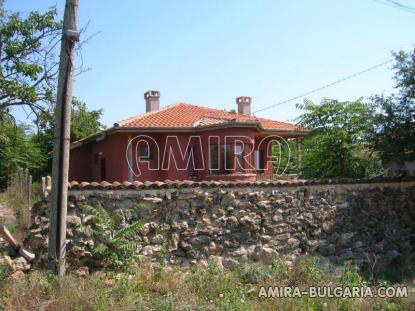 House next to Balchik Bulgaria fence