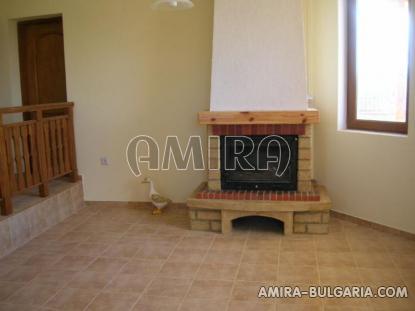 New house 9 km from Balchik fireplace