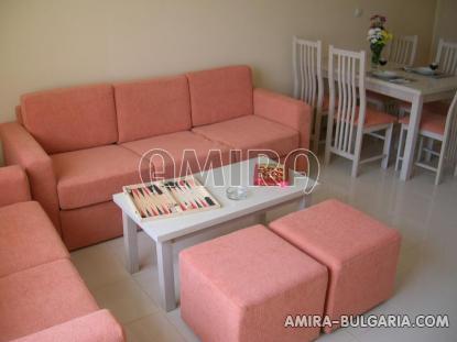 Furnished apartments in Bulgaria near Albena sofa